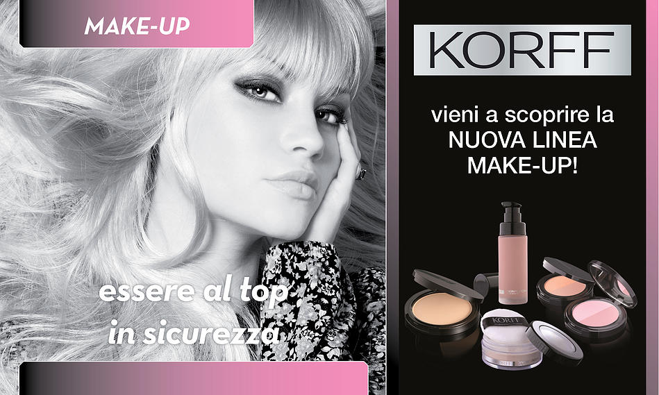 Korff Linea Make up Spinea Venezia